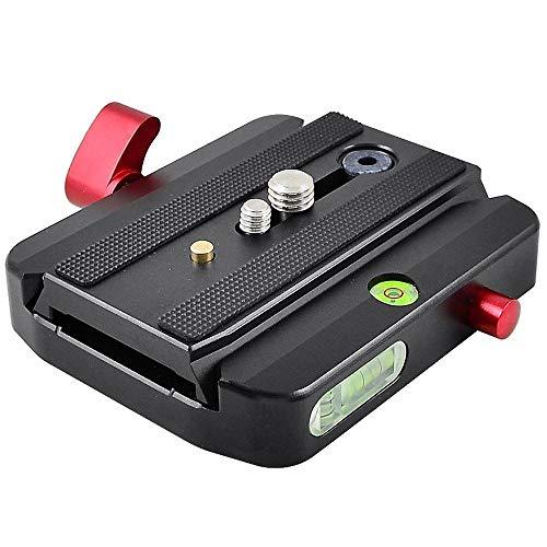 """MENGS M-577 Kameraklemme als Multifunktions Komponenten aus massivem Aluminium für 1/4\"""" Kameragewinde und 3/8\"""" Stativschraube Anzug 501 und 701 Schnellwechselplatte verwende"""