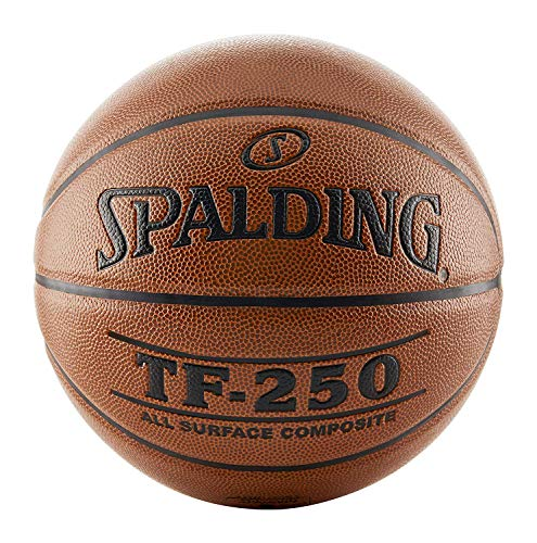Buy Discount Spalding TF250 Men's 29-1/2 Inches Official Basketball, Orange