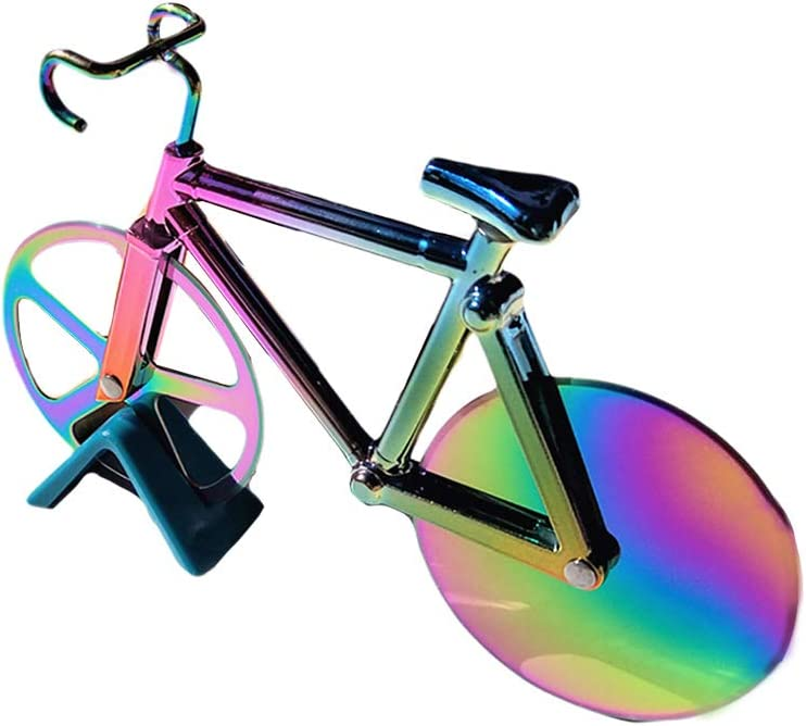 Bicycle Pizza Cutter 67% OFF of fixed price Wheel Stainless Ste shipfree Cutting Non-Stick