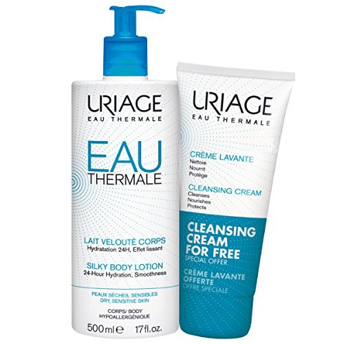 Uriage Uriage Cleansing Cream + gr.atis Silky Body Lotion - 700 ml.