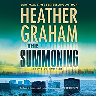 The Summoning     Krewe of Hunters, Book 27              By:                                                                                                                                 Heather Graham                               Narrated by:                                                                                                                                 Luke Daniels                      Length: 10 hrs and 2 mins     1 rating     Overall 4.0