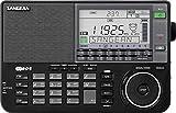 Sangean ATS-909 X - Receptor FM/MW/LW/SW/RDS con alarma y bateria recargable, Negro
