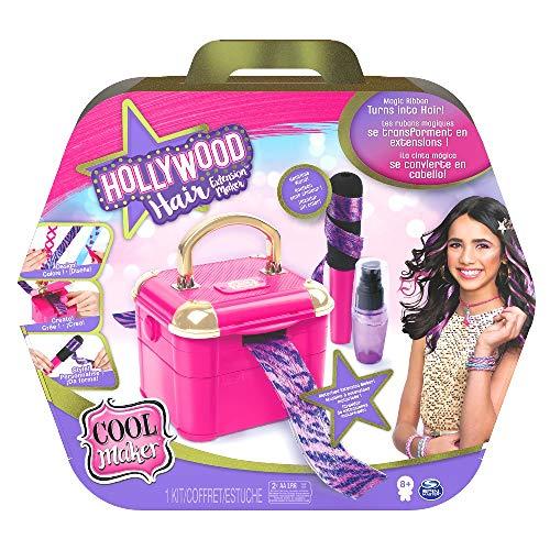 Cool Maker - Hollywood Hair Macchina Crea Extension, 12 Extension Personalizzabili e Accessori, Dagli 8 Anni - 6056639