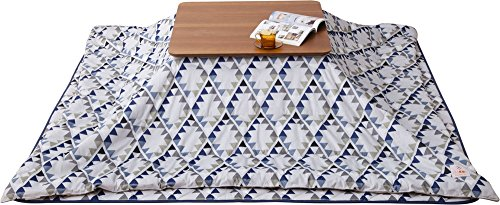 EMOOR Microfiber Kotatsu Futon Set (Comforter & Rug),...
