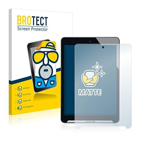 BROTECT 2X Entspiegelungs-Schutzfolie kompatibel mit Medion Lifetab S7852 (MD98625) Bildschirmschutz-Folie Matt, Anti-Reflex, Anti-Fingerprint