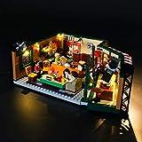 GEAMENT Kit de luz LED para Ideas Friends The Television Series Central Perk - Compatible con bloques de construcción Lego 21319 (juego de Lego no incluido)