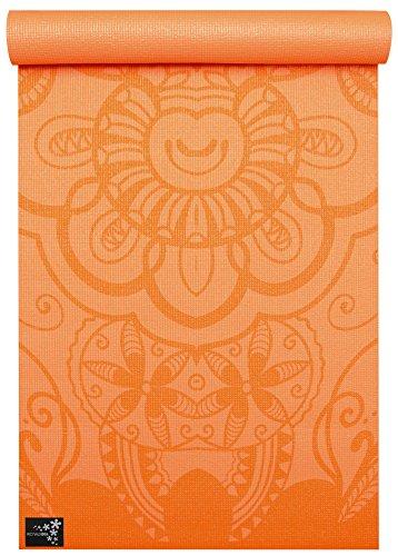 Yogistar Basic Art Collection Yogamatte, Ethnic Mango, One Size
