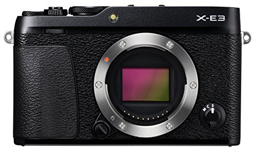 Fujifilm X-E3 Mirrorless Digital Camera, Black (Body Only)