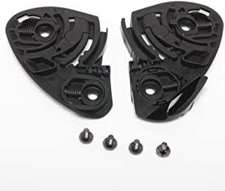 Shoei CW-1 Quick Release Self-Adjusting Base Plate Full Set Motorcycle Helmet Accessories - Black/One Size