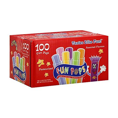 Fun Pops Verschiedene Eis-Pops, 100 x 42,5 g.