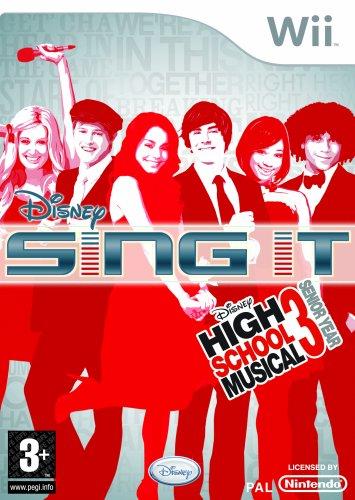 Disney Sing It: High School Musical 3 Senior Year - Game Only (Wii) [Importación inglesa]