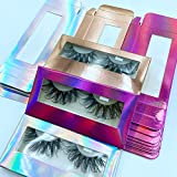 30 Pieces Empty Eyelash Boxes (3 colors, no trays or lashes included) for Mink Eyelashes and Faux Mink lashes 15mm-25mm Lashes Suitable