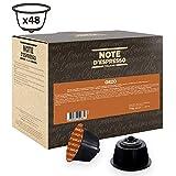Note D'Espresso - Cápsulas de bebida de cebada compatibles con cafeteras Dolce Gusto, 3g (caja de 48 unidades)