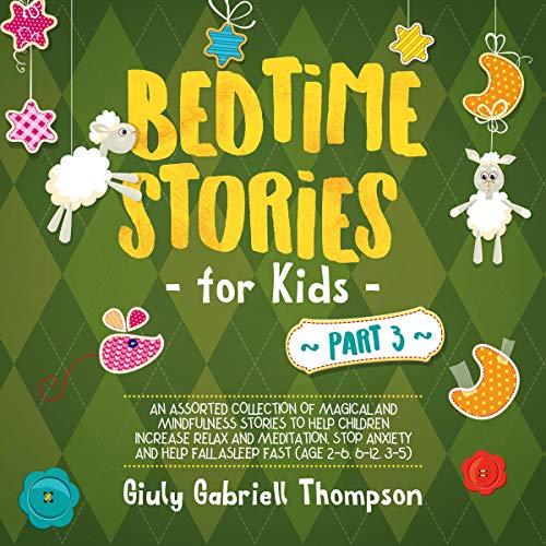 Bedtime Stories for Kids: Vol 3 audiobook cover art