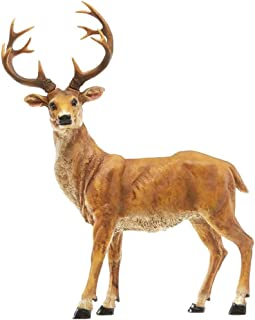 DEER STATUE African Safari Savannah Jungle Garden Yard Lawn Sculpture Stand