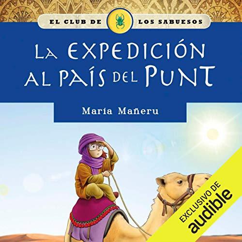 Diseño de la portada del título La expedición al país del Punt
