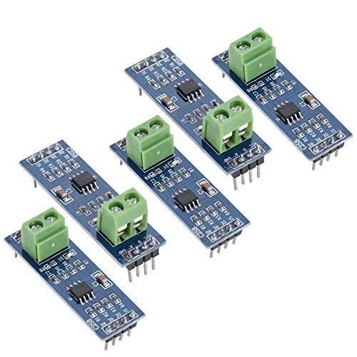 5PCS 5V TTL to RS-485 module /MAX485 / RS485 modulo TTL a RS-485 MCU Development Board