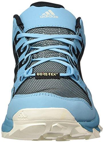 adidas Kanadia 7 TR GTX W, Zapatillas de Running para Asfalto Mujer, Multicolor (Vapour Blue/Core Black/Clear Aqua), 36 2/3 EU