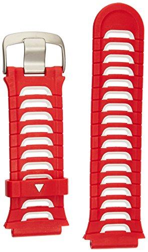 Garmin - Correa de muñeca Color Rojo y Blanco, Compatible con Modelo S2 / S4
