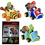 Nintendo 69278-4L Super Mario Coin Racers Wave 1, Rot -