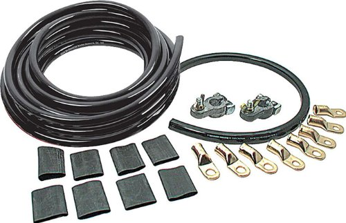 Allstar Performance ALL76111 2 Gauge Cable Kit with All Black Cables