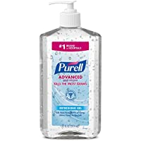 12-Pack Purell Advanced Hand Sanitizer Refreshing Gel