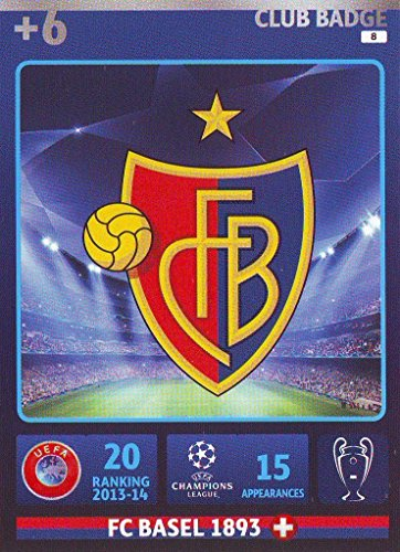Champions League Adrenalyn XL 2014/2015 FC Basel Club Badge 14/15