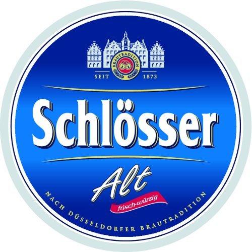 24 Flaschen Schlösser Alt Altbier a 0,33 Liter Bier inc. 1,92€ MEHRWEG Pfand 4,8% Vol.