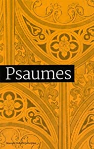 Book's Cover of Psaumes