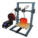HWHSZ Impresora 3D, CR-10S Impresora 3D De Autoensamblaje para Bricolaje, con Marco De Aluminio Y Detector De Filamentos, Reanudar La ImpresióN, TamañO De ImpresióN para 300 * 300 * 400 Mm
