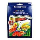 Staedtler- Noris Club Caja con 36 lápices de colores, Multicolor (144 ND36)