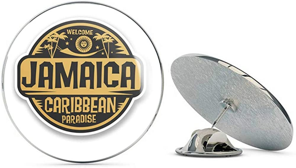 Jamaica Jamaican Round Metal 0.75
