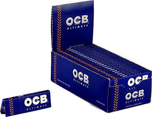 2500 CARTINE OCB ULTIMATE CORTE 1 BOX 50 LIBRETTI