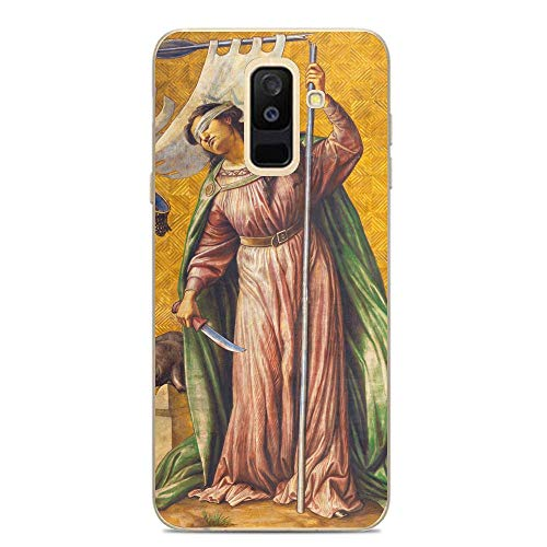 The Symbolic Fresco of Synagogue in Herz Jesus Church Flexible Slim Soft Gel Protector Case for Samsung Galaxy A6 Plus/J8 2018/A9 Star Lite