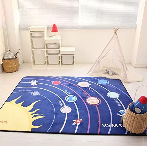 USTIDE, Baby-Spielmatte aus Memory-Schaum, Bodenteppich, Lernteppich, Anti-Rutsch-Baby-Matte, 150 x...