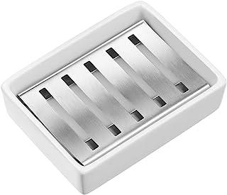 SANNO Soap Dish Bathroom Holder Stainless Steel