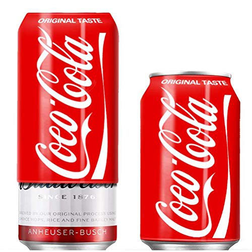 DUOCACL Contenitori - Coperchio per lattine di Birra, Custodia in Silicone per Bottiglia di Coca Cola Nascondi Un portabevande Nascondi Birra Che assomiglia a Coca Cola per Escursioni in Campeggio