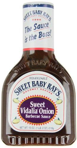 Sweet Baby Ray's BBQ Sauce - Sweet Vidalia Onion, 1er Pack (1 x 510 g Flasche)