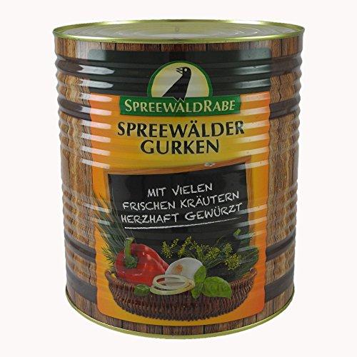 Original Spreewälder Senf-Gurken (10 l Dose)