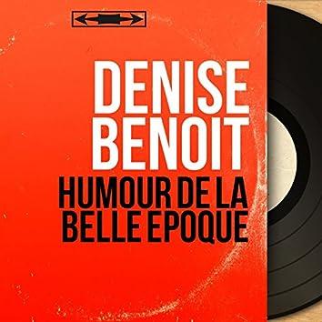 Humour de la Belle Époque (feat. François Rauber) [Mono Version]
