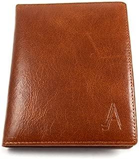 Leather Passport Cover - Passport Holder for Men - Compact, Slim
