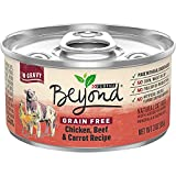 Purina Beyond Grain Free Chicken, Beef & Carrot Recipe Adult Wet Cat Food - 3 Oz (Pack of 12) (Packaging May Vary)