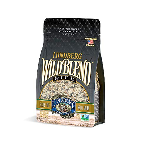 Lundberg Family Farms  Wild Blend Rice Pantry Staple Great for Cooking Versatile Rich Color FullBodied Flavor Whole Grain NonGMO GlutenFree Vegan Kosher 16 oz