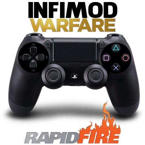 Manette Rapid Fire Infimod Warfare PS4 Black