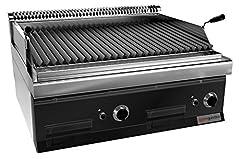 Gas Lavastone Grill (14 kW) - Grill grillowy można przechylić