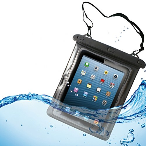 Waterproof Case Underwater Transparent Clear Bag Pouch with Touch for Amazon Kindle Fire HD 8.9 - Amazon Kindle Fire HD 8.9 4G - Amazon Kindle Fire HDX 8.9