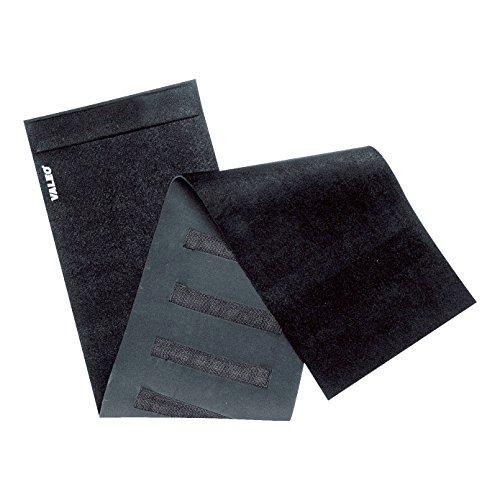 Valeo Slimmer Belt with Built-In Massaging Magnets And Soft And Durable Neoprene For Comfort, 1 Size Fits Most, Black, VA7630BK
