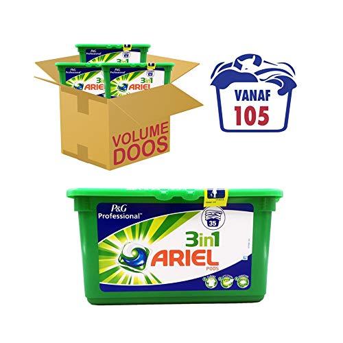 Ariel 3in1 Pods Regular - 105 Wasbeurten - Wasmiddel Capsules