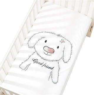 Drap-housse pour lit bébé - Coton - Motif décoratif - 60 x 120 cm/70 x 140 cm