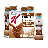 Kellogg's Special K Milk Chocolate Protein Shakes - Meal Replacement, Gym Food, Pack of 3 (12 Count)